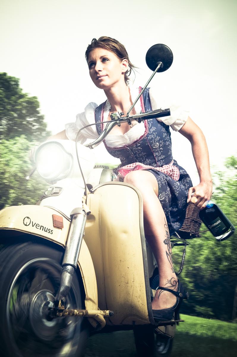 Kampagnenshooting, venuss Nusslikör © Johann Perger photography Fotografie
