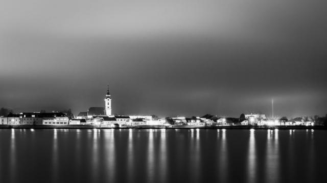 Pöchlarn Nachtaufnahme Langzeitbelichtung © Johann Perger photography Fotografie